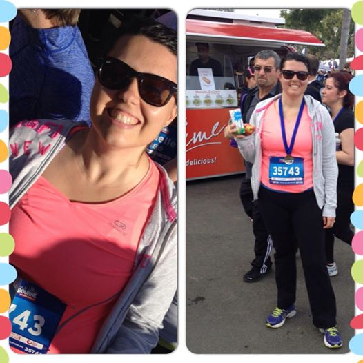 Run Melbourne 2014 - Before and after (Photo credit: lavaleandherworld.wordpress.com)
