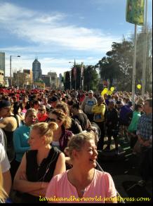 Run Melbourne - Lots of people running (Photo credit: lavaleandherworld.wordpress.com)