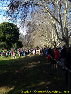Run Melbourne - Waiting for the run to start (Photo credit: lavaleandherworld.wordpress.com)
