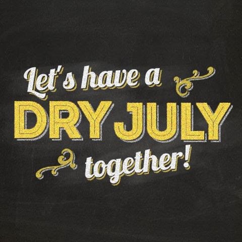 Dry July together