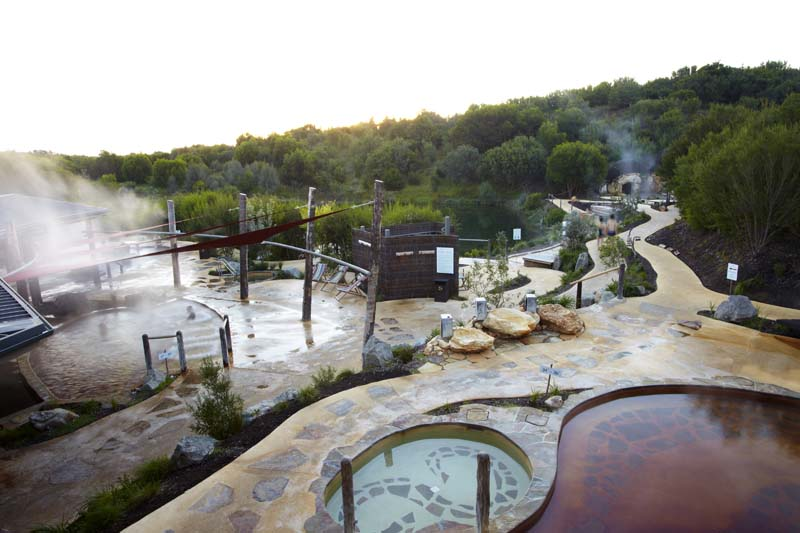 Peninsula Hot Springs (Photo Credit: Peninsula Pages)