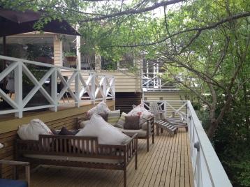 The terrace at The Lake House (Photo credit: lavaleandherworld.wordpress.com)
