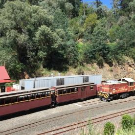 Old train at Walhalla, Victoria, Australia (Photo credit: lavaleandherworld.wordpress.com)