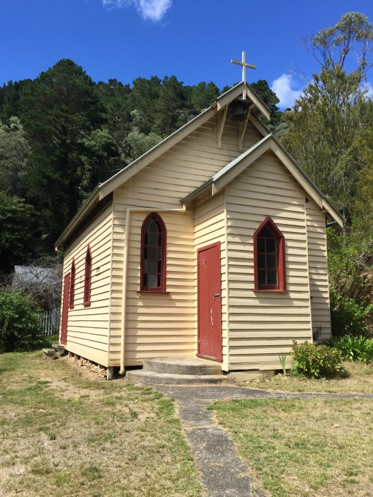 Church at Walhalla, Victoria, Australia (Photo credit: lavaleandherworld.wordpress.com)
