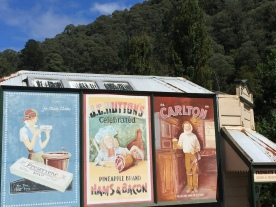 Old billboards at Walhalla, Victoria, Australia (Photo credit: lavaleandherworld.wordpress.com)