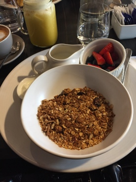 Granola at the Chiffley Bar & Grill, Kurrajong Hotel Canberra (Photo Credit: lavaleandherworld.wordpress.com)