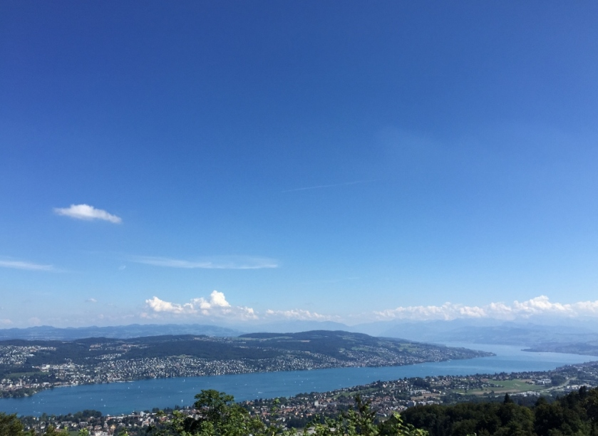 View from Uetliberg (Photo credit: https://lavaleandherworld.wordpress.com)