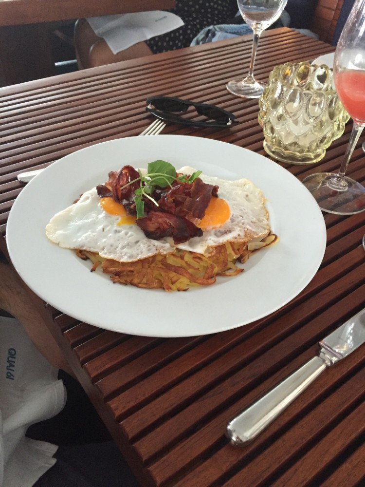 Brunch at Quai 61, Zurich (Photo credit: https://lavaleandherworld.wordpress.com)