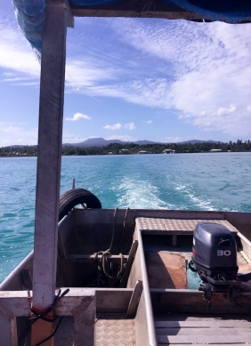 Taxi Boat to Manono Island, Samoa (Photo credit: lavaleandherworld.wordpress.com)