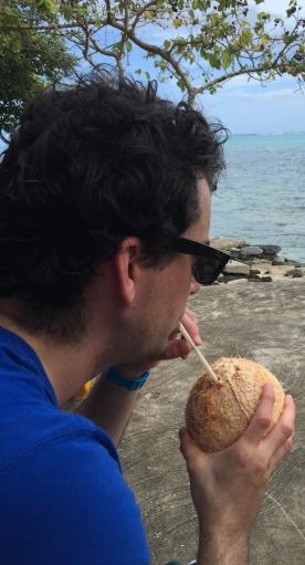 Drinking natural Coconut water, Samoa (Photo credit: lavaleandherworld.wordpress.com)