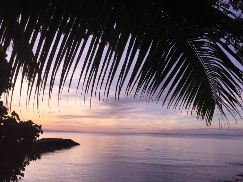 Sunset in Samoa (Photo credit: lavaleandherworld.wordpress.com)