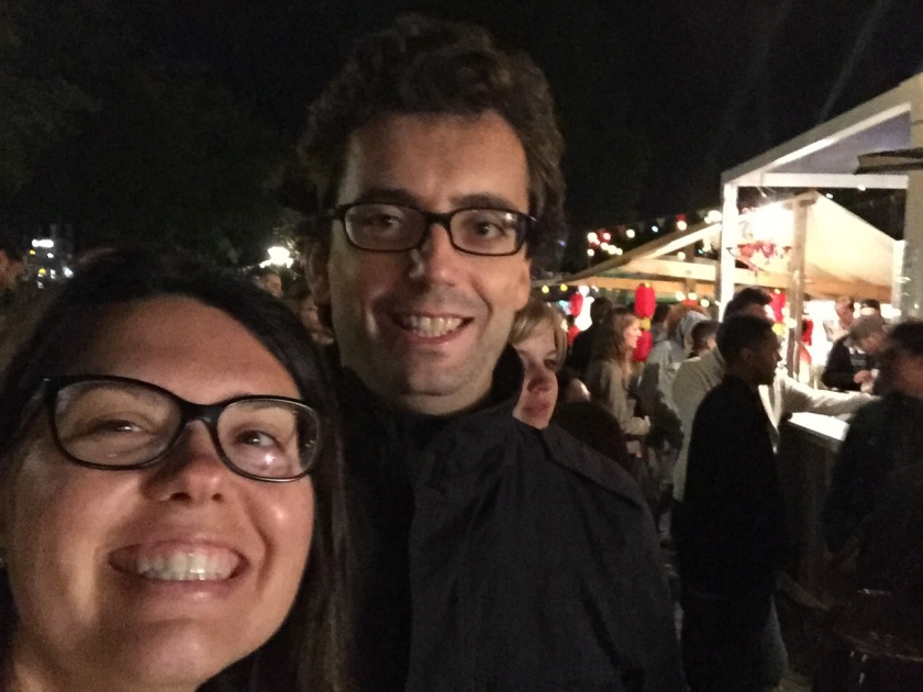Myself & Carlo at the Zurich Street Food Festival (Photo Credit: https://lavaleandherworld.wordpress.com)