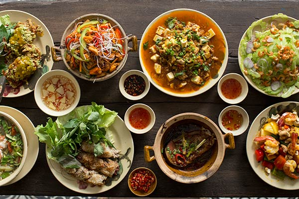 Vietnamese Food (Photo Credit: www.asialifemagazine.com)