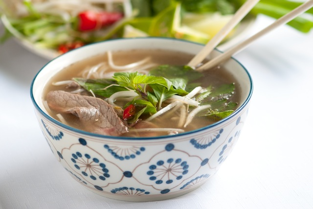 Vietnamese Pho Recipe (Photo credit: www.inspiredtaste.net)