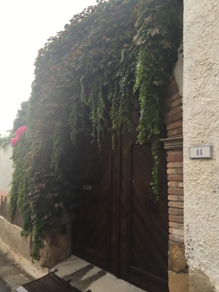 """Portone (woodden door)"", San Sperate (Photo credit: http://www.lavaleandherworld.wordpress.com)"