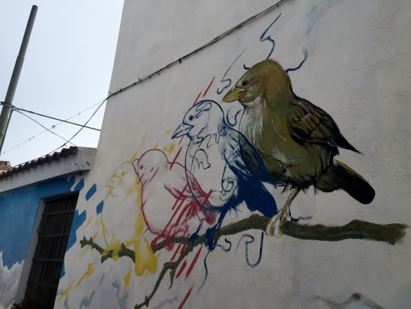 """Murales"", San Sperate (Photocredit: http://www.lavaleandherworld.wordpress.com)"