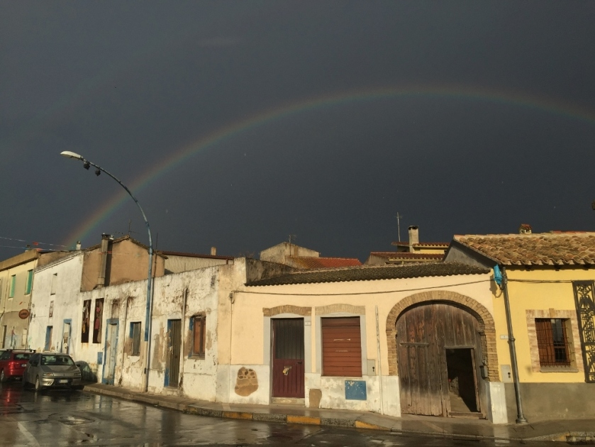 San Sperate after the rain (Photo credit: http://www.lavaleandherworld.wordpress.com)