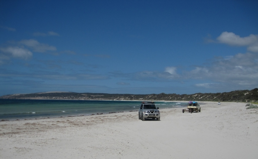 Beach on Kangaroo island (Photo credit: http://www.lavaleandherworld.wordpress.com)