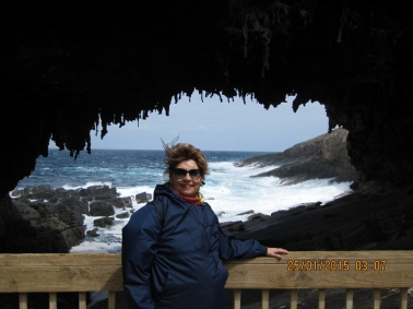 My mom, Kangaroo island (Photo credit: http://www.lavaleandherworld.wordpress.com)