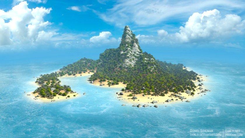 paradise island by danlei
