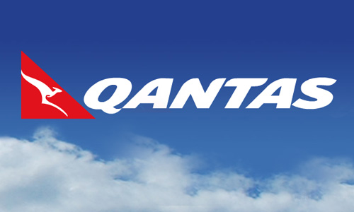 Qantas in the air (Photo Credit: www.artsonline.monash.edu.au)