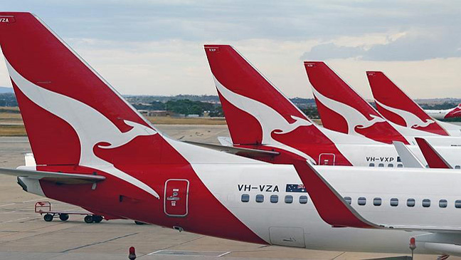 Qantas (Photo credit: The Australian)