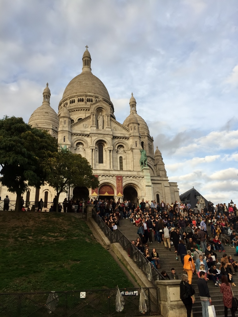 Le Sacre Coeur, Paris (Photo credit: http://www.lavaleandherworld.wordpress.com)