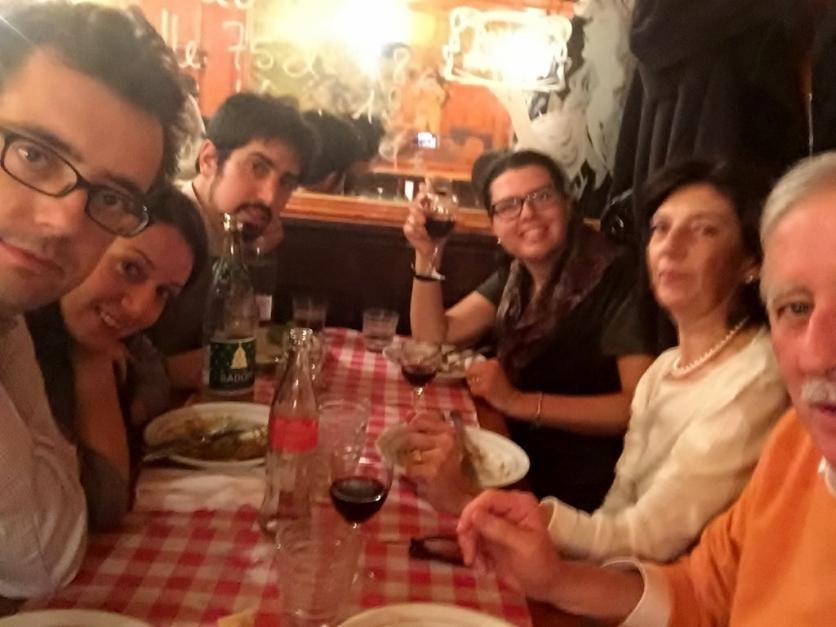 Us at Polidor Restaurant, Paris (Photo credit: http://www.lavaleandherworld.wordpress.com)
