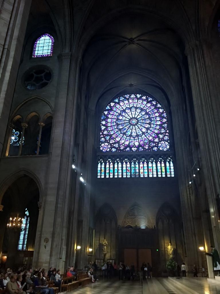 Majestic Notre Dame window, Paris (Photo credit: http://www.lavaleandherworld.wordpress.com)