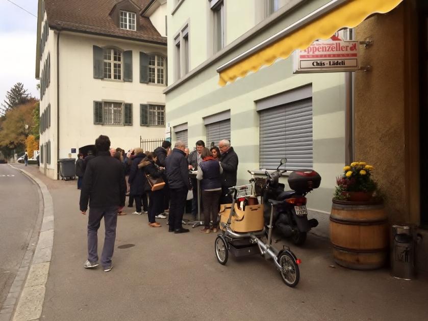 Amstad Chaeslaedeli raclette opening (Photo credit: http://www.lavaleandherworld.wordpress.com)