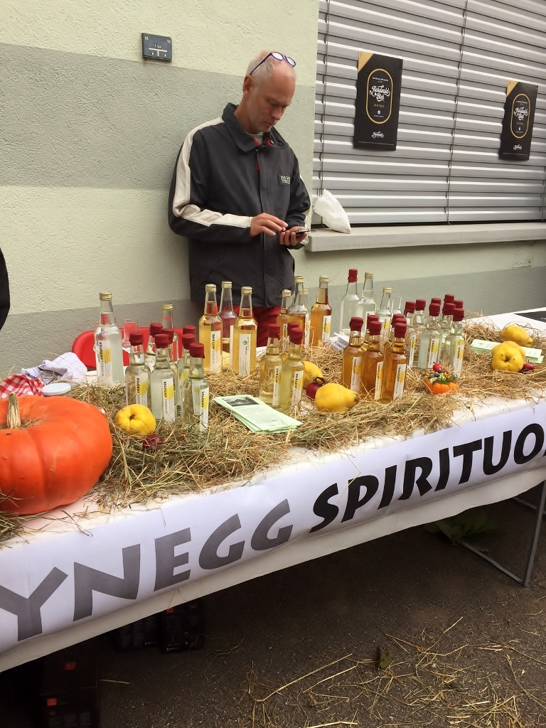 Schnapps tasting (Photo credit: http://www.lavaleandherworld.wordpress.com)