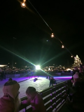 Ice-rink at the Xmas Markets am Bellevue, Zurich (Photo credit: http://www.lavaleandherworld.wordpress.com)