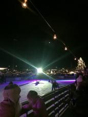 Ice-rink at the Xmas Markets am Bellevue, Zurich (Photo credit: http://www.lavaleandherworld.wordpress.com)
