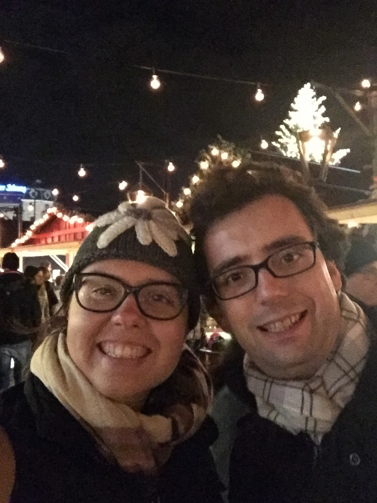 Us at the Xmas Markets am Bellevue, Zurich (Photo credit: http://www.lavaleandherworld.wordpress.com)
