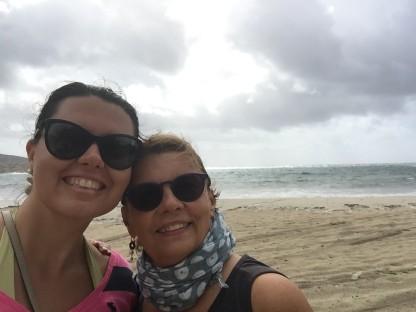 Me & my mom walking on the beach, Sardegna (Photo credit: https://lavaleandherworld.wordpress.com)