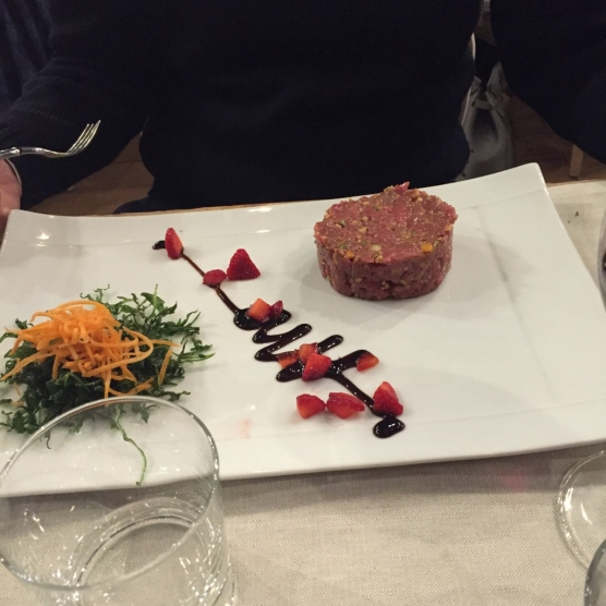 Beef Tartare at Bio (Photo credit: https://lavaleandherworld.wordpress.com)