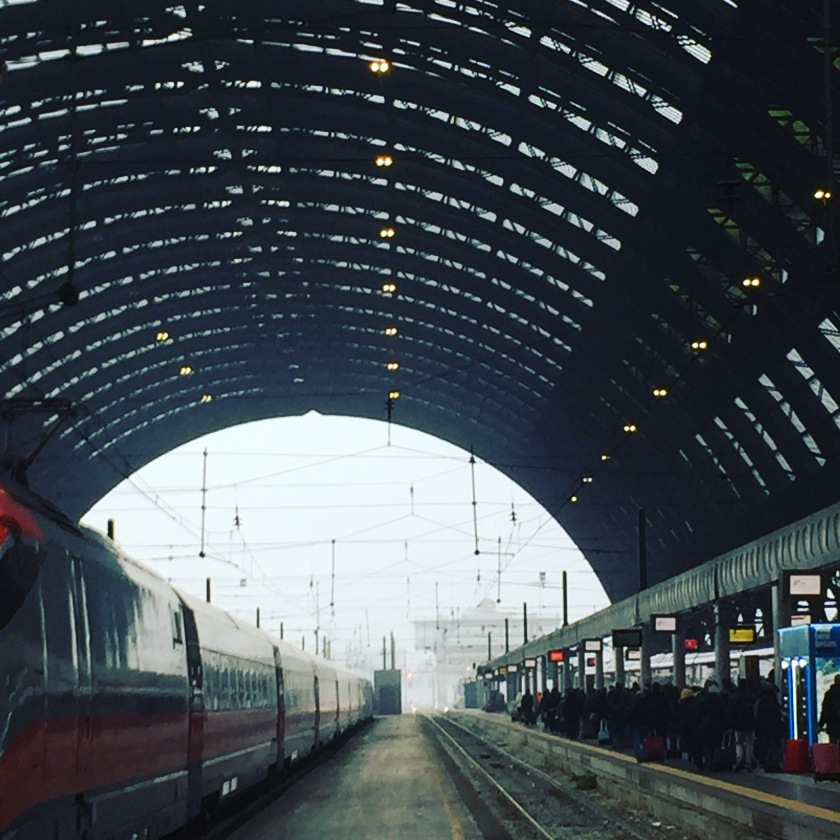 Stazione Centrale Milano (Photo Credit: http://www.wordpress.com/lavaleandherworld)